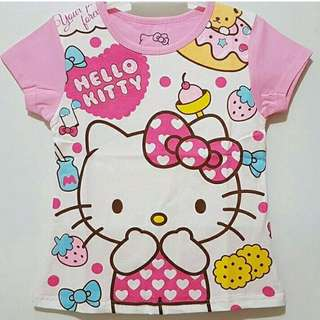 Kaos Hello Kitty Pink