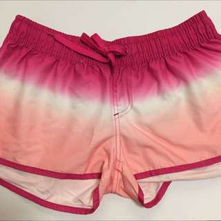 Pink Ombre Shorts