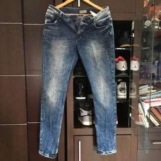 Pull & Bear Denim jeans light blue