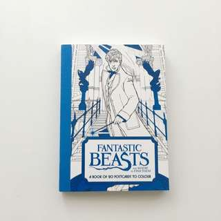 Fantastic Beasts and Where To Find Them - 20 Postcards To Colour