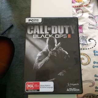Call Of Duty Black Ops 2 (for PC)