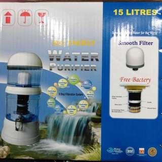 Mineral Pot Bio Energy Water Purifer Like PURE IT Kapasitas 15 Liter