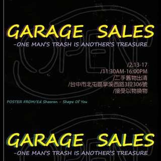 雜七雜八二手市集 Garage sale