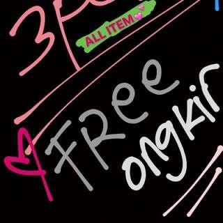 FREE ONGKIR