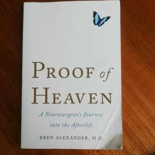 Proof Of Heaven Book