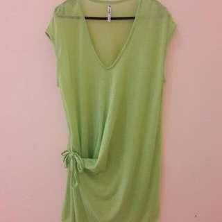 Green Blouse (MADE IN KOREA)