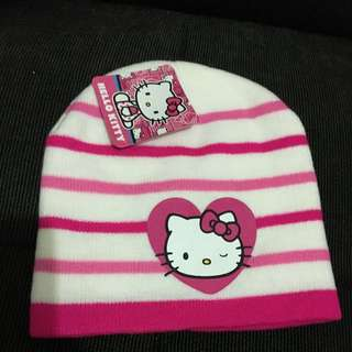 Kupluk Hello Kitty Untuk Anak