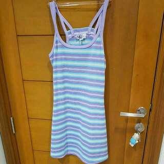 Pastel stripe dress