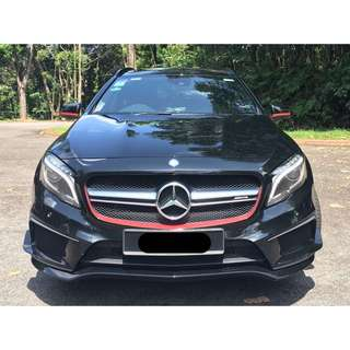 Mercedes Benz GLA45 AMG Edition 1 (2015) Cosmo Black [Local Malaysia Car]