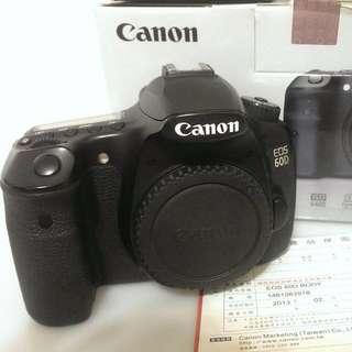 Canon EOS 60D 公司貨 盒單都在快門一萬出頭