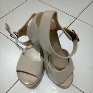 Wedges LSH Nude