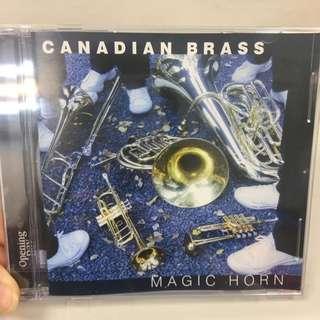 🚚 加拿大銅管五重奏Canadian Brass MAGIC HORN CD