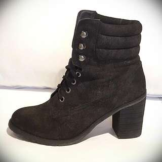 Betts Lace Up Boots