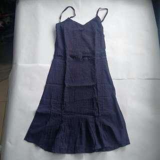 Me Forever Blue Mini Dress