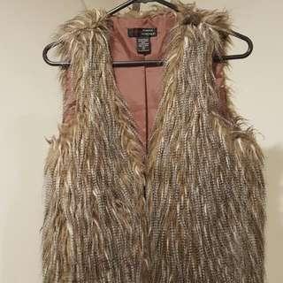 Fur Vest Size S