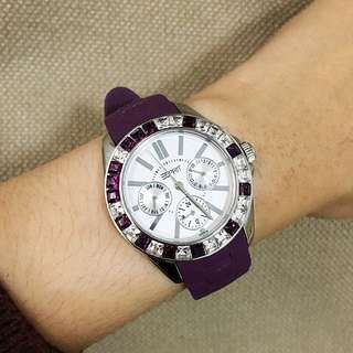 Esprit Rubber Strap Purple