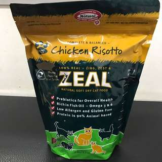 Zeal Natural Soft Dry Cat Food 1.5kg - $32.00