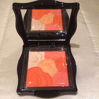 Repriced Anna Sui Rose Cheek Color Blush Highlight