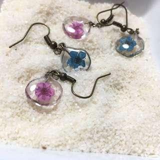 Flower Droplet Earrings