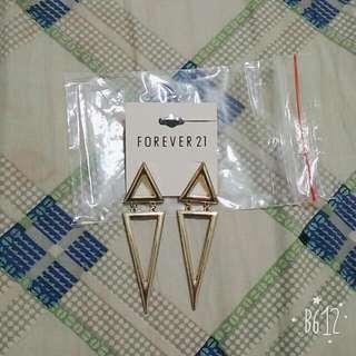 Forever21 全新耳環