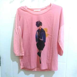 Blouse Peach-Pink