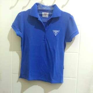 Polo Shirt Logo Guess