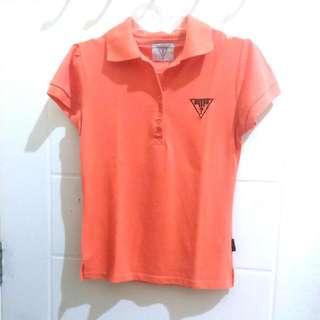 Polo Shirt Orange Muda