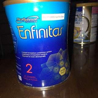 美贊臣Enfinitas 2號奶粉