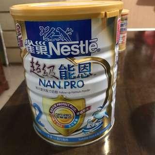 超級能恩 2號奶粉hold