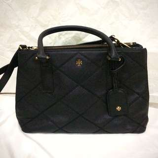 tory burch robinson double zip