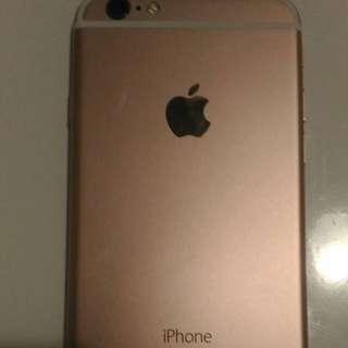 Iphone 6s 玫瑰金16g