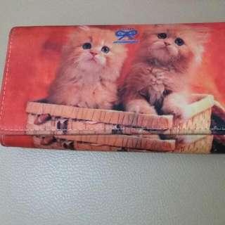 Dompet Motif Kucing