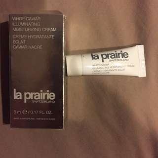 New 5ml la prairie white caviar illuminating moisturizing cream