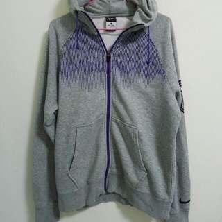 Nike 灰色內刷毛Kobe外套