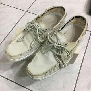 Náutica Nautica 帆船鞋 防水 帆布鞋