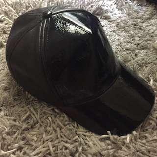 PU Leather hat