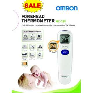 Omron non-contact Forehead Thermometer - MC 720 - Brand New