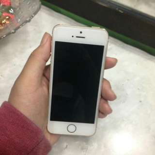 Iphone 5s gold 16gb (Week Used)