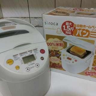 Siroca日本全自動製麵包機 Shb315