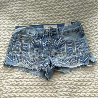 Hollister Festival Shorts (Size 3)