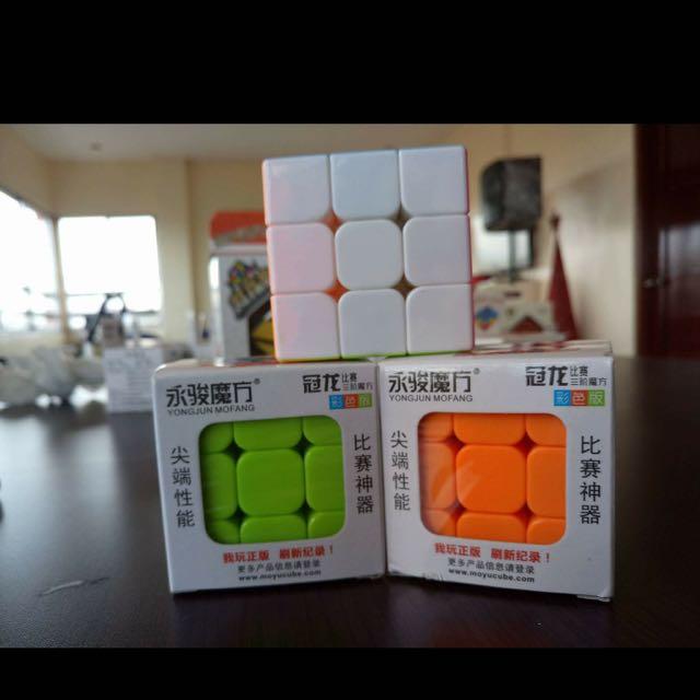 3x3x3 Stickerless Guanlong