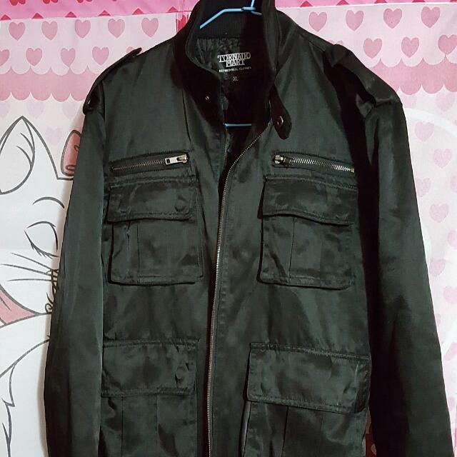軍裝尼龍外套