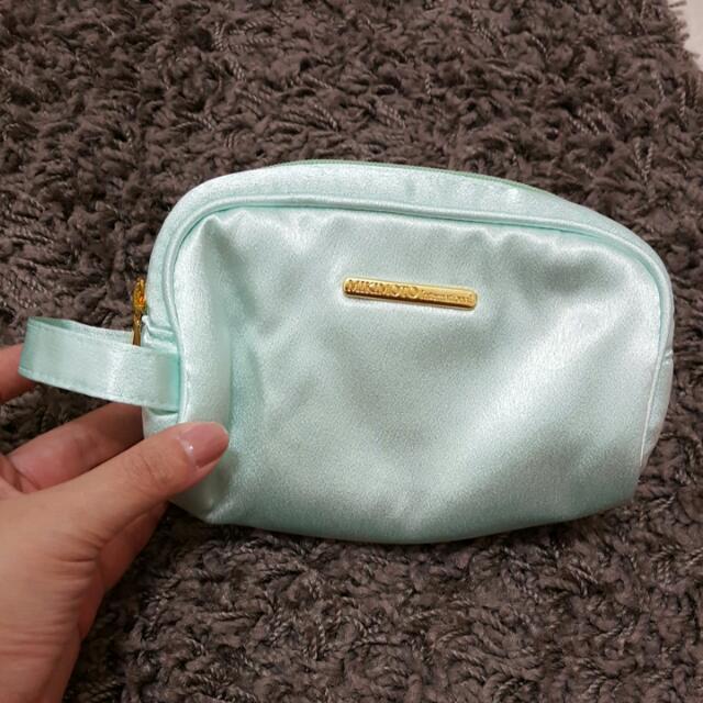 藍綠色化妝包