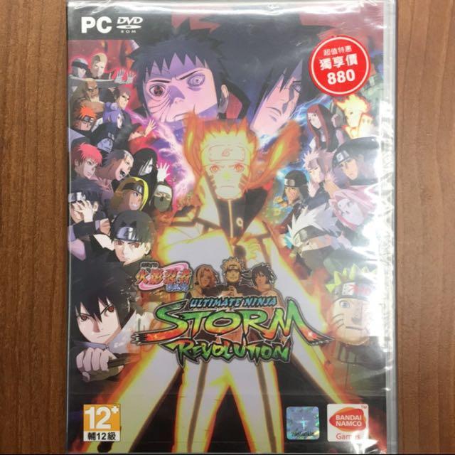 全新火影忍者疾風傳 PC DVD  電腦遊戲