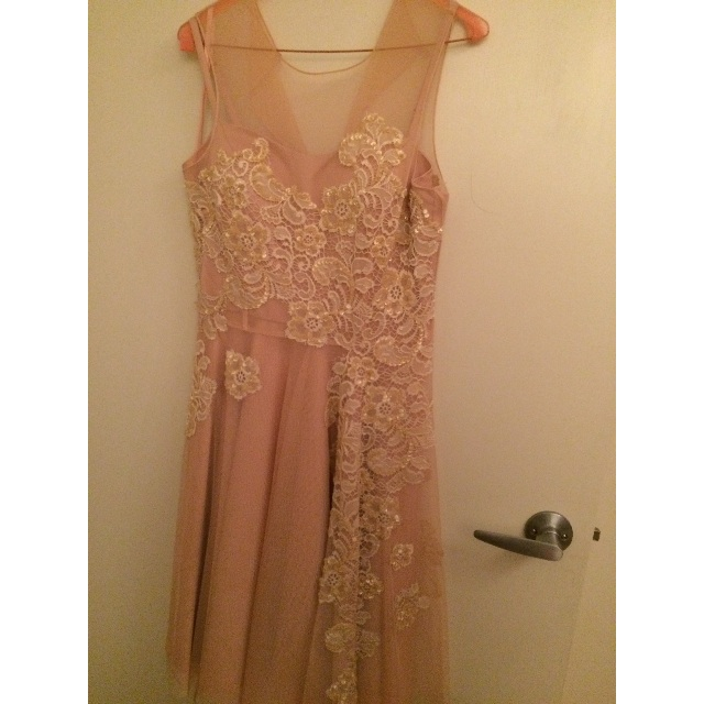 Alannah Hill Sequin and Beaded Dress Size 10