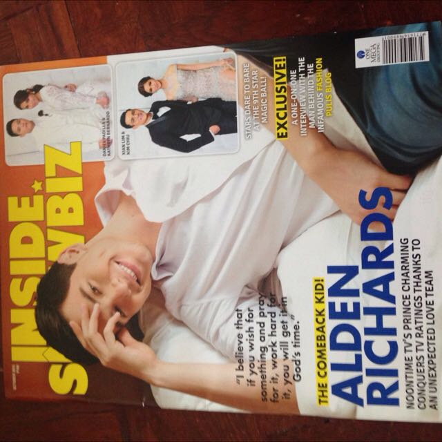 ALDEN Cover (Inside Showbiz)