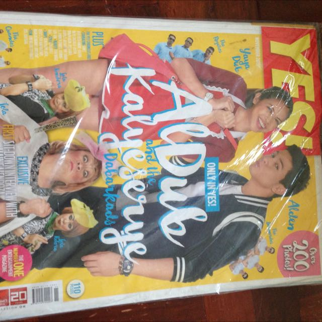ALDUB Cover (YES Mag)