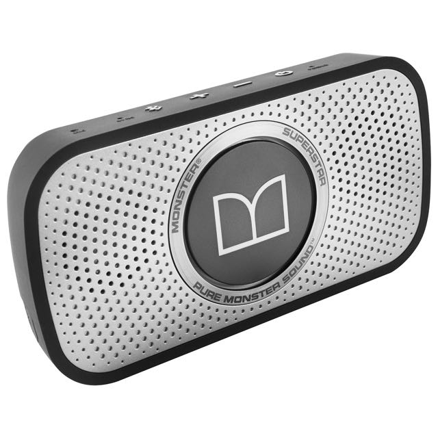 Almost new Monster Superstar Bluetooth speaker