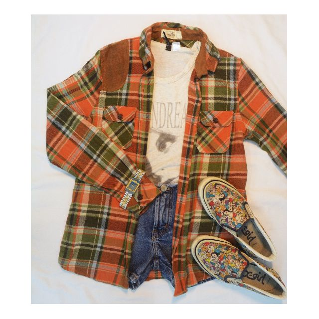 Auth Hollister Flannel
