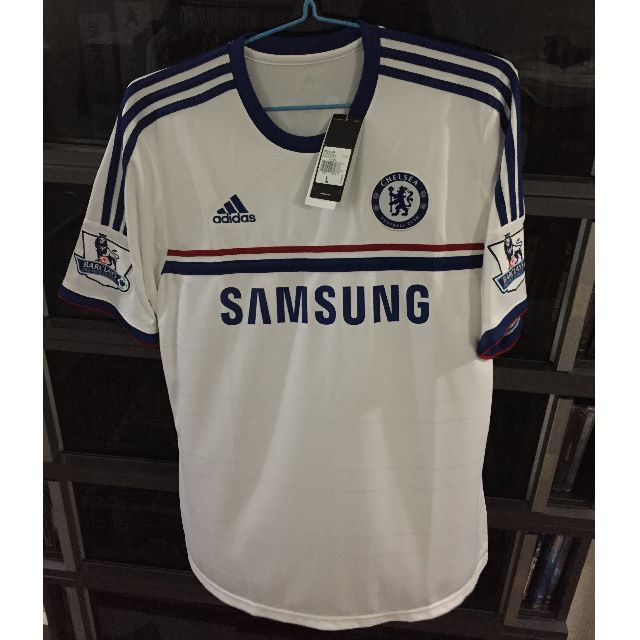 sports shoes 9cd33 dbdb6 Authentic Chelsea 2013 Away Jersey
